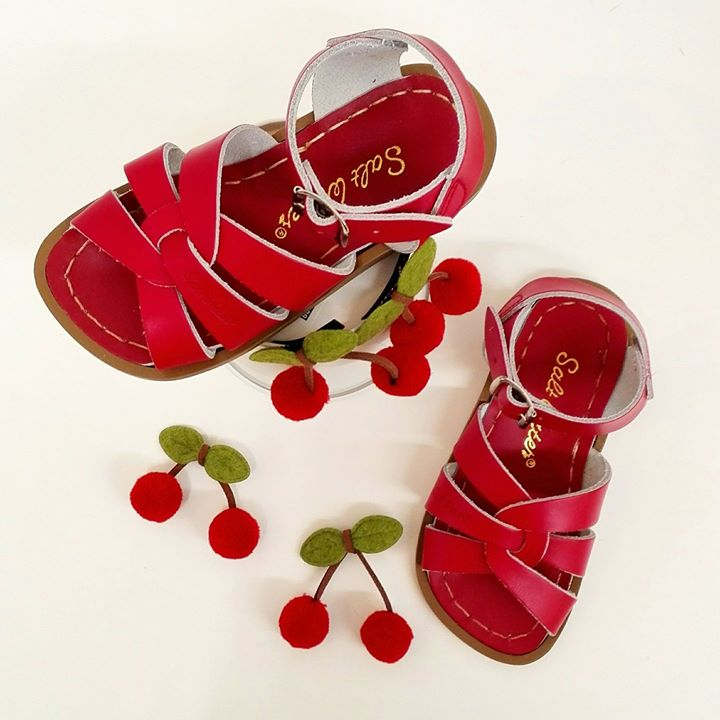 Salt Water Sandal roja